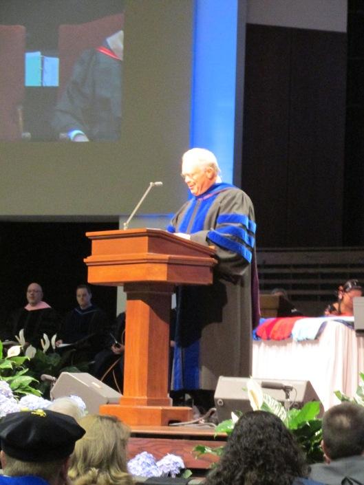 Patterson preaching