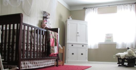 baby A's nursery