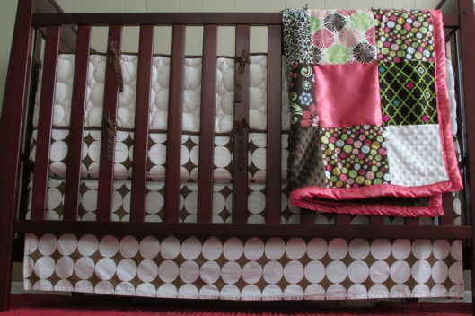 Crib & bedding